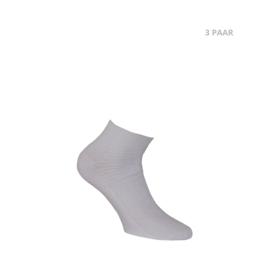 Katoenen sokken - BIKER - 3 PAAR - wit