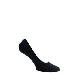 Katoenen sokken - SNEAKER INVISIBLE - rondom GEL -zwart