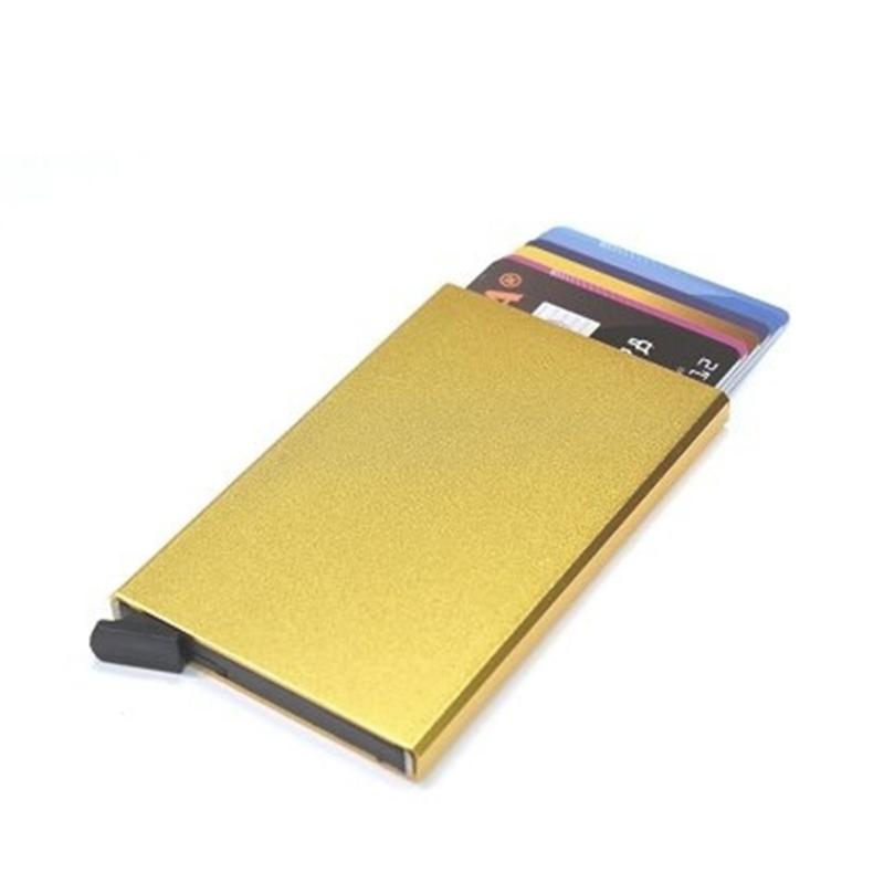 aluminium cardprotector  - FIGURETTA - goud