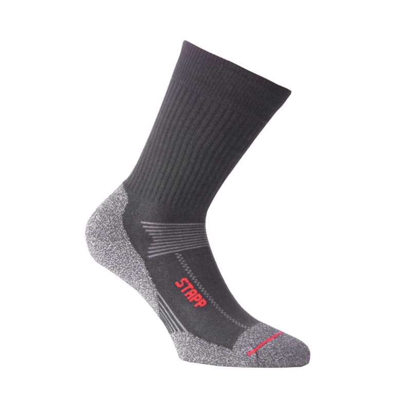 Katoenen sokken - STAPP BOSTON - coolmax - antraciet