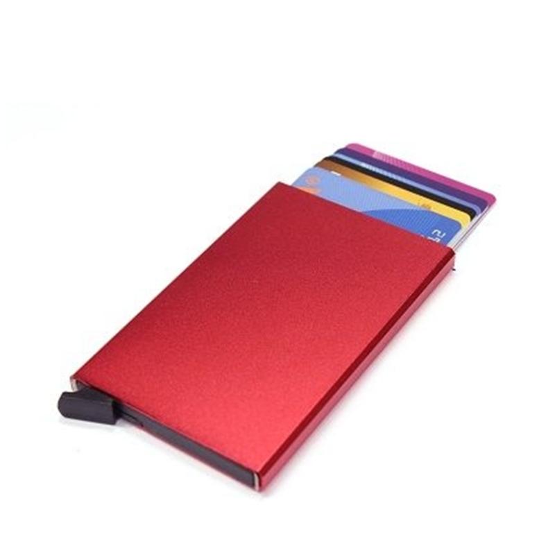 aluminium cardprotector  - FIGURETTA - rood