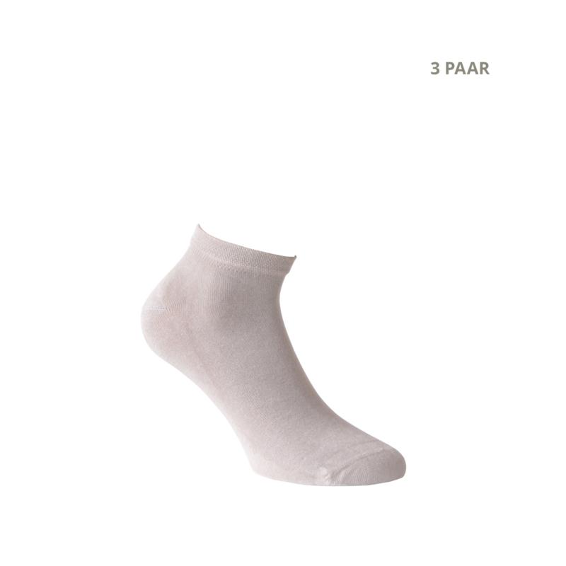 Bamboe sokken - CROSS - 3 PAAR - zand