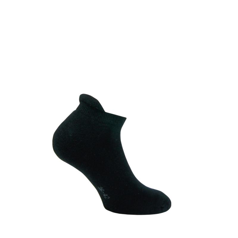 Katoenen sokken - SNEAKER TERRY - zwart