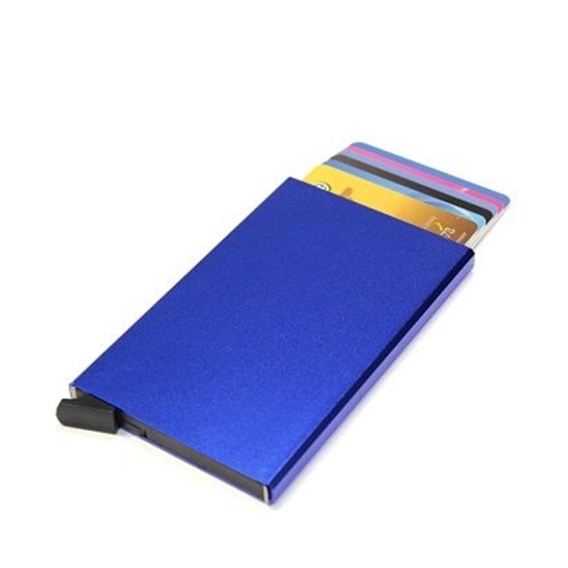 aluminium cardprotector  - FIGURETTA - blauw