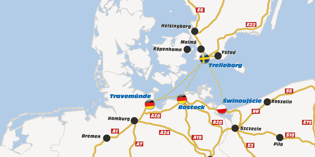TT-Line route
