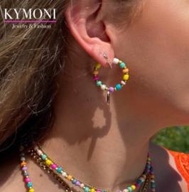 Mily oorbellen colors