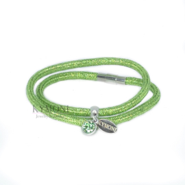Dani glitter groen (goud of zilver)