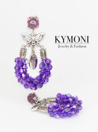 Roxy diamond purple