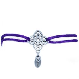 Flower armband, keuze uit verschillende kleuren