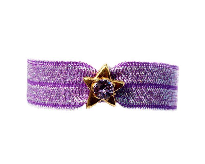 Just Me sparkle purple