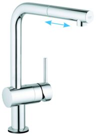 Grohe Minta Touch 31360 Supersteel