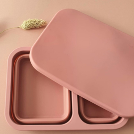 Opvouwbare silicone lunchbox