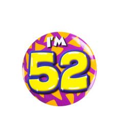 Button klein - i'm 52