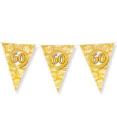 Party Flags foil - 60 jaar getrouwd