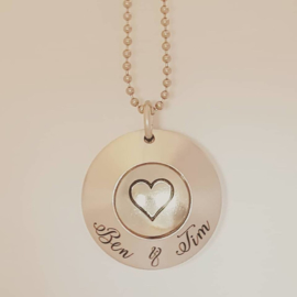 Fight for life - ketting (model 3)