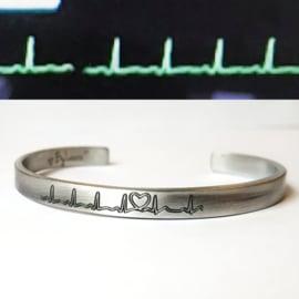 Heartbeat | Aluminium, koper of messing