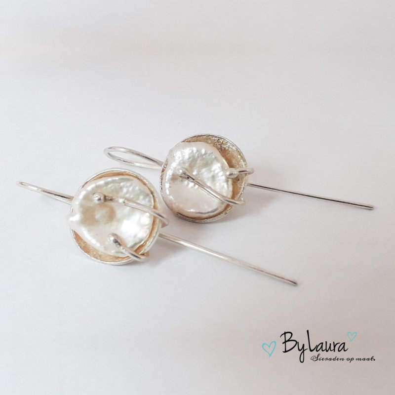Hangende parels (zilver)