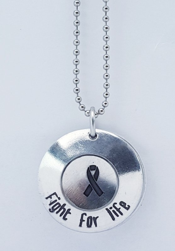 Fight for life - ketting (model 1)