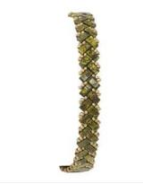 Bracelet Cosita- Vert Picasso/ Dore