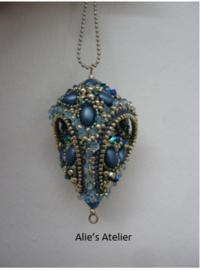 Hanger:   Nido Di Rondine - kleuren Blauw