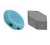 Paros®Par Puca® Opaque Aqua- 63020