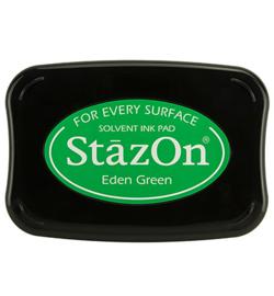 Stazon stempel inkt- Eden Green