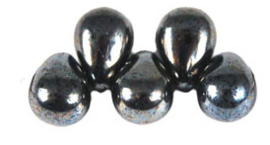 Tear Drop 4/6mm L23980  Hematite