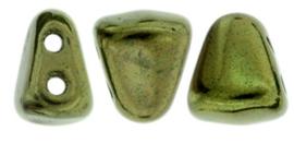 Nib-bit 6/5mm [loose] Luster Metallic Olivine Lk23980