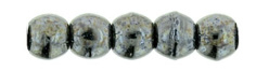 Round beads - 29403   Metallic Steel