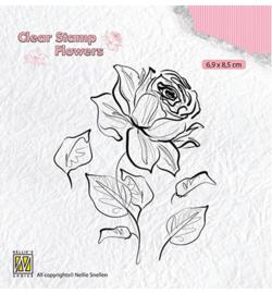 Stamp Rose - fl0017