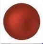 Cabochon Par Puca® 25mm- Red Metallic Mat