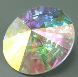Rivoli 16mm- Crystal AB - Foiled