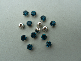 Montees 6mm - Zircon