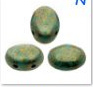 Samos®Par Puca®Opaque Green Turquoise Bronze- 15496