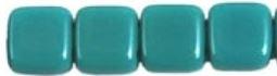 TilaBead 06-63140 Opaqua Turquoise  6x6mm