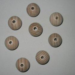 Houten kraal 25mm