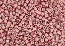 Miyuki Delica Bead -923  Vintage rose Metallic