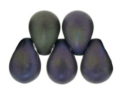 Tear Drops  4/6mm 21195 Matte Iris Purple