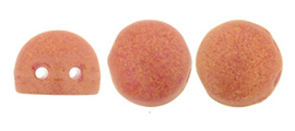 2-Hole Cabochon Beads 06-S1002WH- Pacifica Strawberry