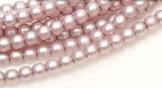 Glass Pearl 2mm - 75427 Antique Pink Satin