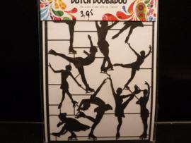 Dutch paper art - Ice Dansers