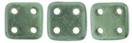 Quadra Tile czechmates  79051MJT - Metallic Suede LT. Green