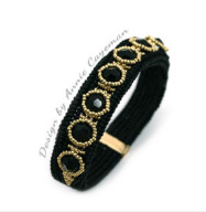 Kit Bracelet Skill- Noir Dore