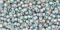 Toho 11-176  Transparant rainbow Black Diamond