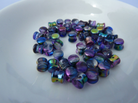 Diabola 4x6mm Iris Purple