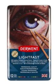 Derwent  Lightfast  12st in blik