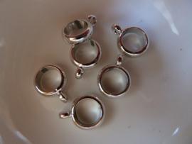 Metalen ring met oog -19403