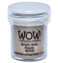 WOW! Embossing poeder - Metallic Brass