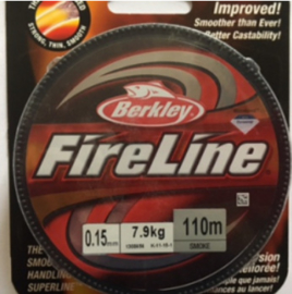 Fire line Smooky Grey 0,15mm - 110m