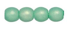 Round Beads 3mm- Neon Seafoam